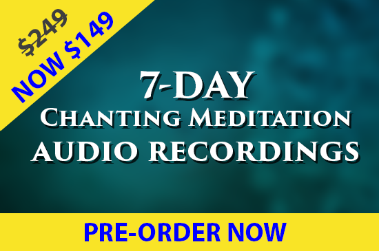 7 Day Blessing Recordings - Chantings and Meditations