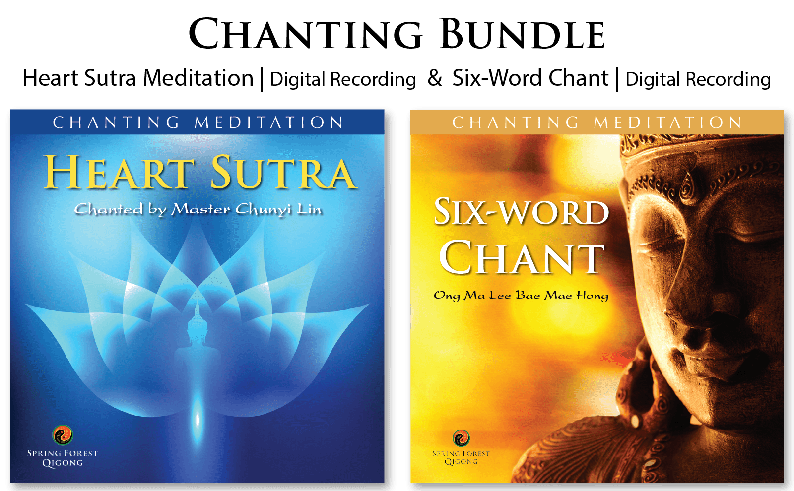 Chanting Meditations by Chunyi Lin