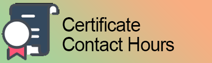 Certificate and Contact Hours