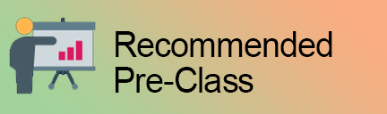 Recommended Pre-Class